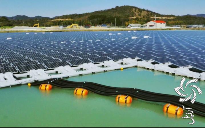 جلوگیری از تخریب آب سد با صفحات سولار برق خورشیدی