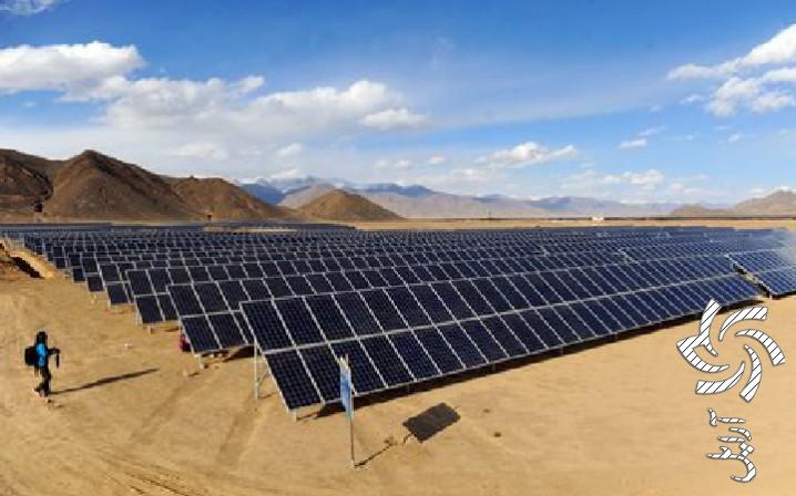 مزرعه هایی  خورشیدی برای  کنترل ریزگردهابرق خورشیدی سولار