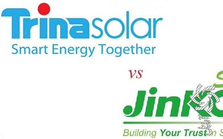 رقابت تنگاتنگ TrinaSolar و JinkoSolarبرق خورشیدی سولار