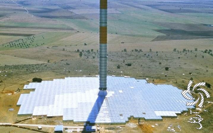 دودکش های خورشیدی چیست برق خورشیدی
