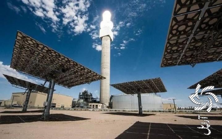 نیروگاه خورشیدی متمرکزبرق خورشیدی سولار