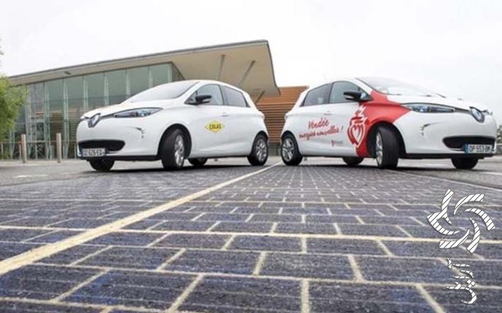اولین جاده خورشیدی جهان برق خورشیدی