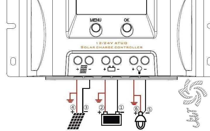 نحوه نصب شارژ کنترلر خورشیدی برق خورشیدی