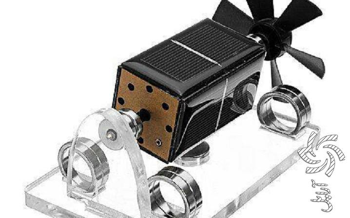 موتور مغناطیسی کوچک خورشیدیبرق خورشیدی سولار