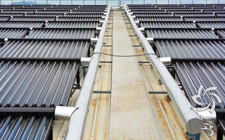 نمونه اي از كاربرد صنعتي كلكتور سهموي تركيبي برق خورشیدی