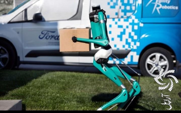 ربات هوشمند شرکت فورد برق خورشیدی
