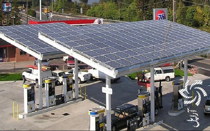 جایگاه های شارژ الکتریکی برق خورشیدی سولار