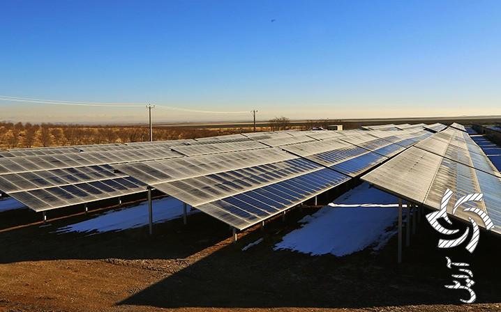 اولین نیروگاه خورشیدی قزوینبرق خورشیدی سولار