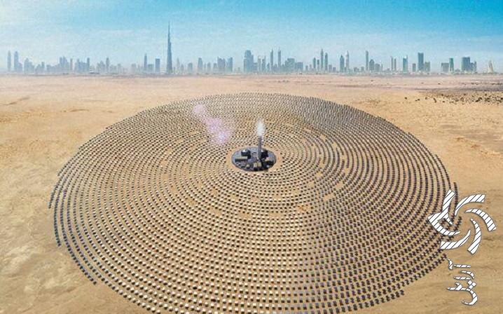 پارک خورشیدی محمد بن راشد آل مکتوم، امارات متحده عربیبرق خورشیدی سولار