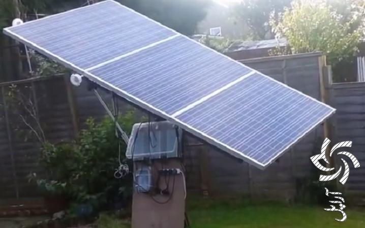 ردیاب خورشیدی (سیستم tracking) آموزش
