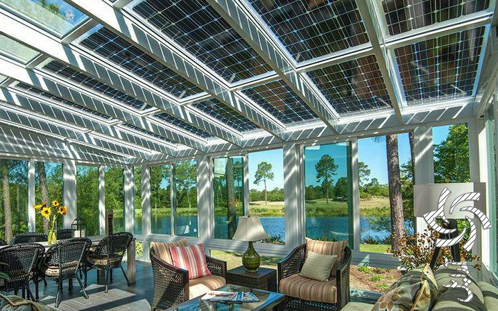سلول های خورشیدی دو فازی برق خورشیدی سولار