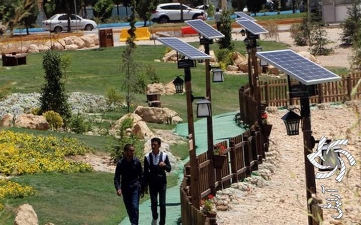 اکو پارک  برق خورشیدی
