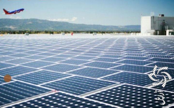 اولین فرودگاه خورشیدی جهان در هند برق خورشیدی