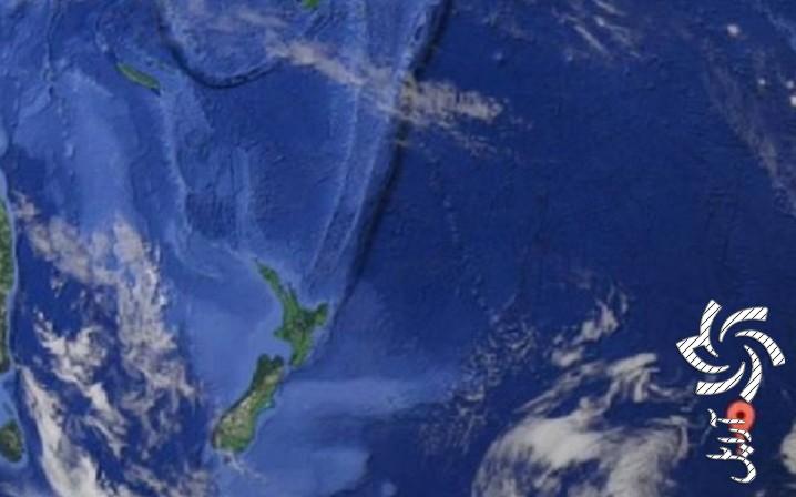 منطقهی ناشناختهای در میانهی اقیانوس آرامبرق خورشیدی سولار
