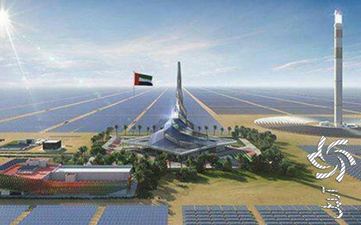 نیروگاه خورشیدی ۱۳٫۶ میلیارد دلاری در بیابان های دبی که در شب نیز برق تولید می کند!برق خورشیدی سولار