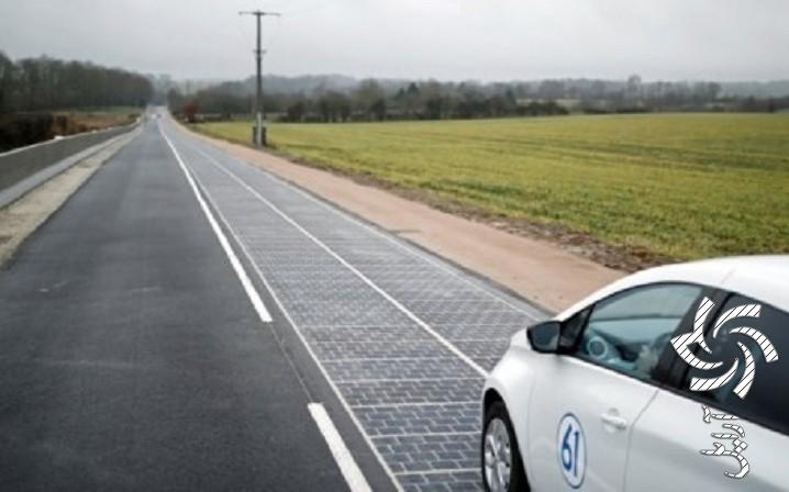 جاده خورشیدی فرانسهبرق خورشیدی سولار