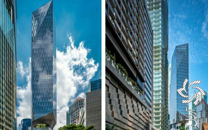 برج رابینسون نماد شهرسازی پایدار در سنگاپور برق خورشیدی
