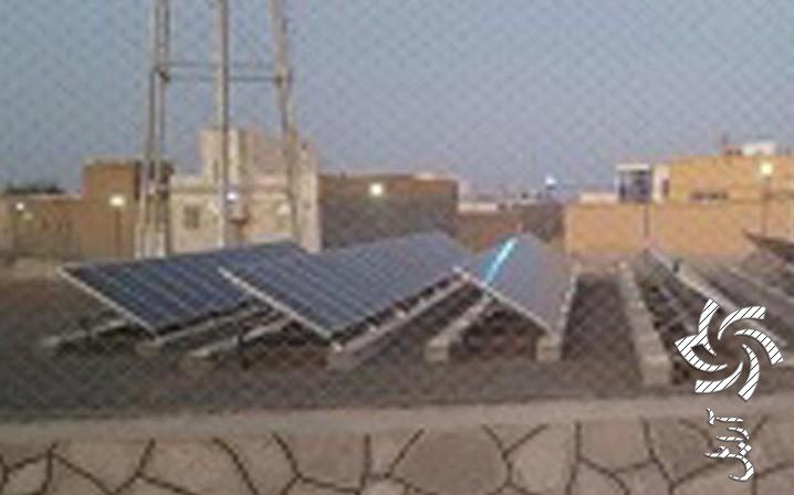مزرعه خورشیدی نایین برق خورشیدی
