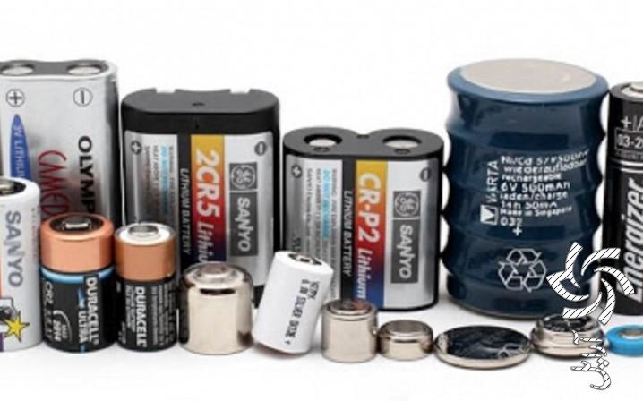 انواع باتری ها آموزش