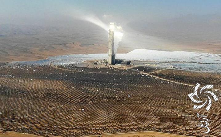 نیروگاه های خورشیدی در نقاط کویری مرکزی ایران راه اندازی می شود! برق خورشیدی