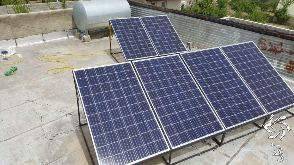 تامین برق ویلاتصویر برق خورشیدی