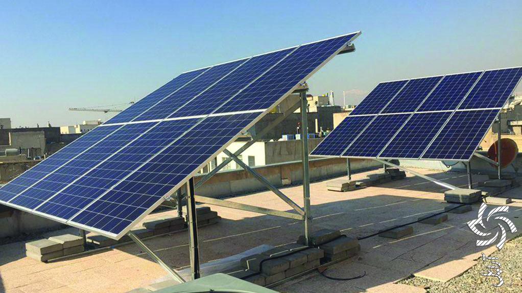 نیروگاه آنگرید شرکت کلید فولادپایهتصویر برق خورشیدی
