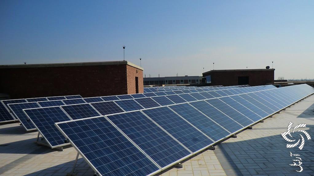 تامین برق ساختمان مسکونی سلیمانیه عراقتصویر برق خورشیدی