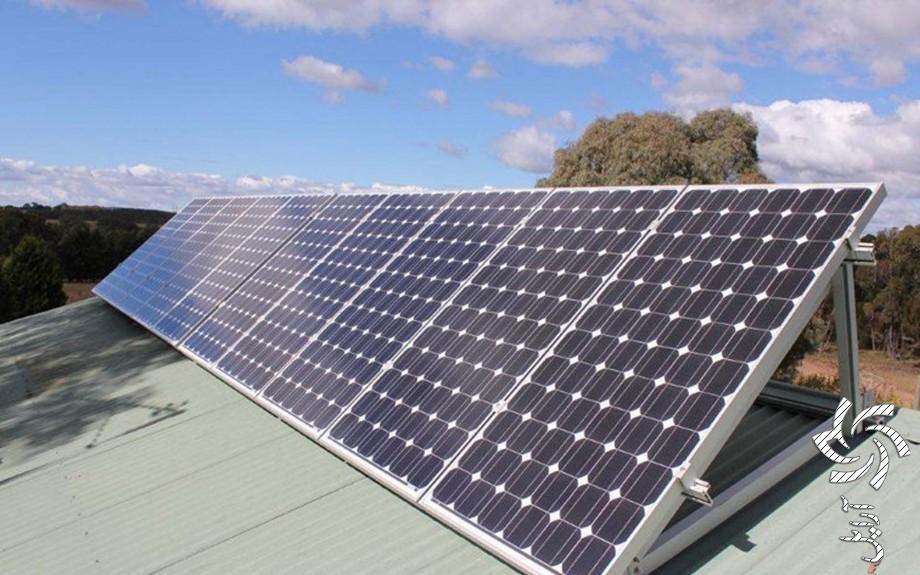 تامین برق گاوداریتصویر برق خورشیدی