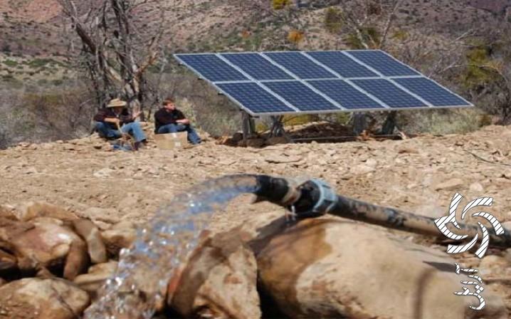 پمپ های آب خورشیدی برق خورشیدی
