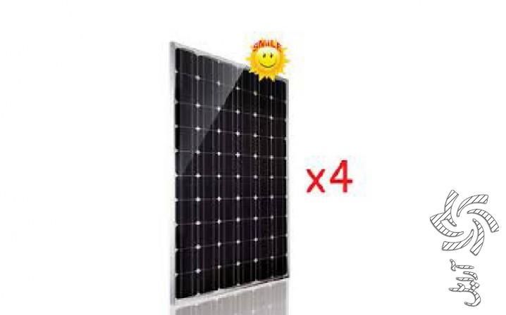 پک 1 کیلو واتی برق خورشیدی