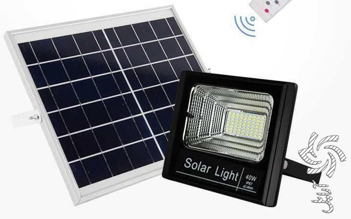 پروژکتور های خورشید برق خورشیدی