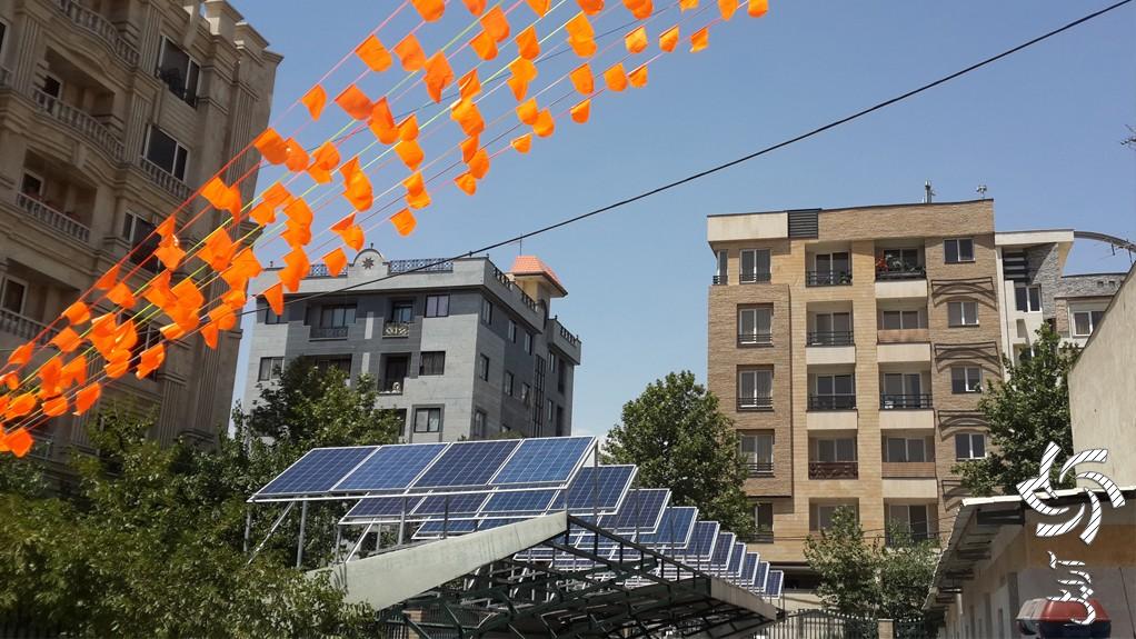 نیروگاه خانگی خورشیدی 1