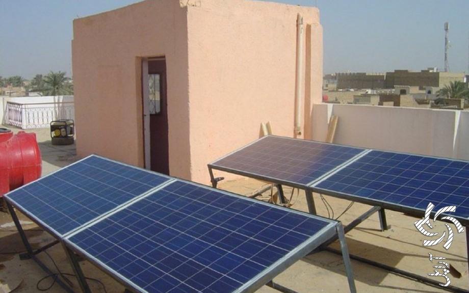 پروژه شهر مُسَیِّب عراقتصویر برق خورشیدی